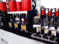 Press & Hole Punch Machine for Door Framing Roll Forming Line