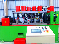 Press & Hole Punch Machine for Highway Guardrail Roll Forming Line