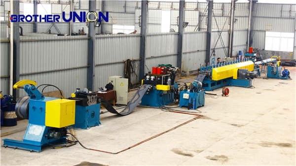W Beam Guard Rail Roll Forming Machine