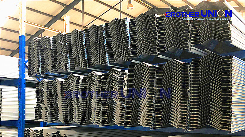 Gutters and Downspout Roll Forming Machine
